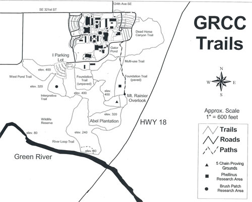Green River Community College Campus Map.Green River College Natural Resources Resources